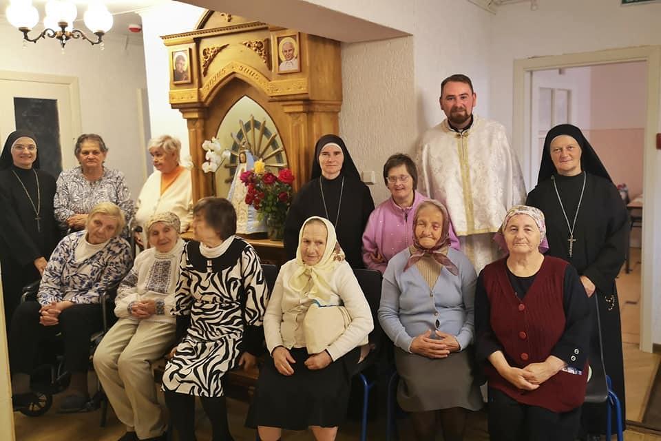 Ucrania - Visita a la casa de ancianas Santa Veronica