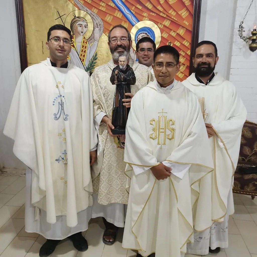 Egipto - Fiesta de San Padre Pio, patrono de la Ciudad de la Caridad en Alejandría
