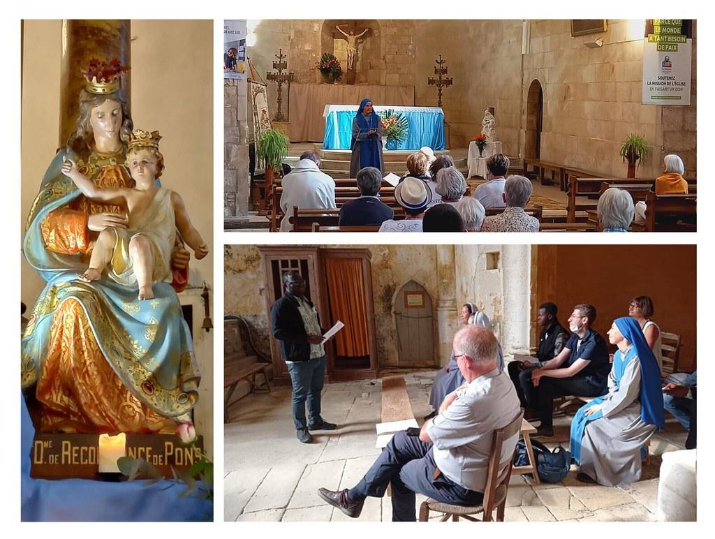 Francia - Peregrinación diocesana a Notre-Dame de Recouvrance