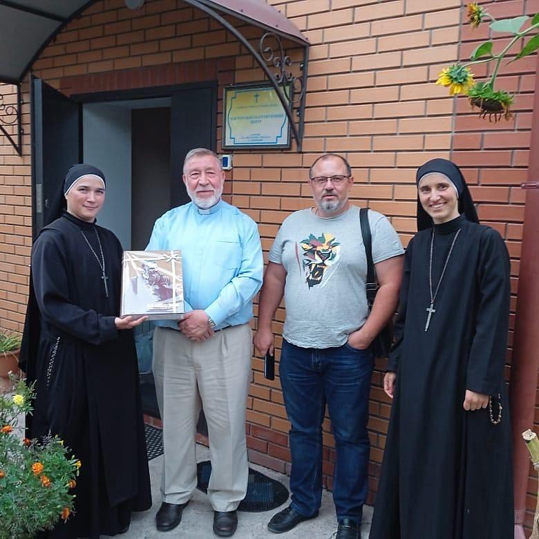 Ucrania - Cumpleaños del Obispo Stepan Menyok