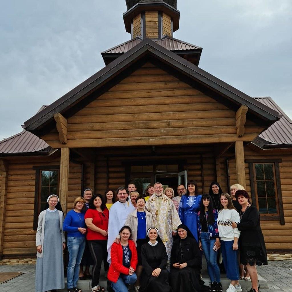 Ucrania - Reunión de catequistas en Kramatorsk