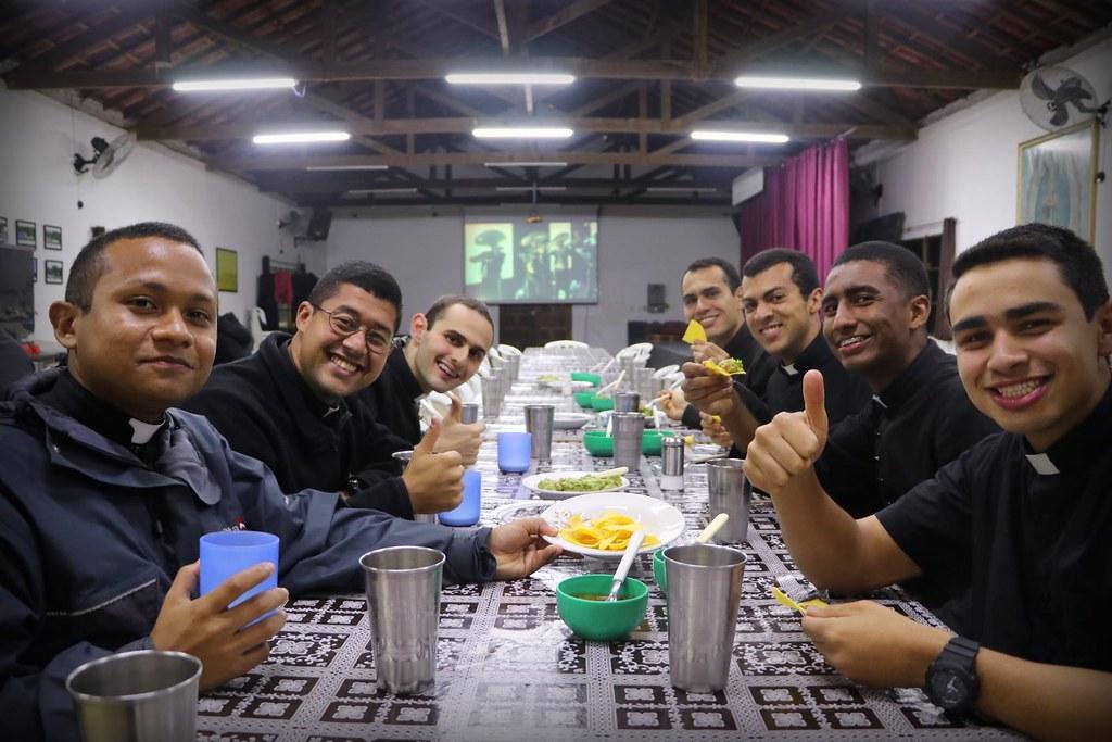 Brasil - Noche mexicana en el seminario mayor