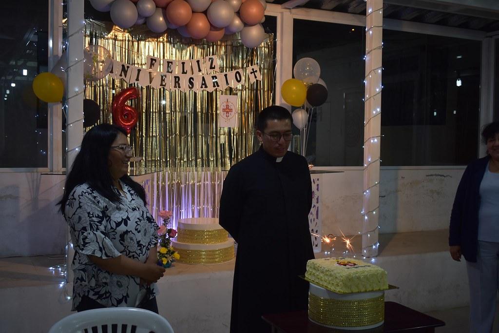 Ecuador - 6º Aniversario de ordenación sacerdotal