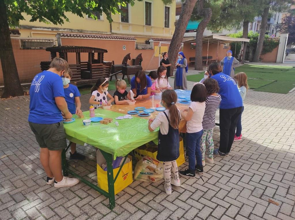 Italia - Actividades en la escuela de Teramo