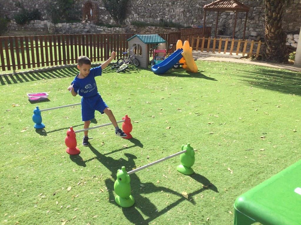 Tierra Santa - Actividades escolares en el Hogar Niño Dios en Belén