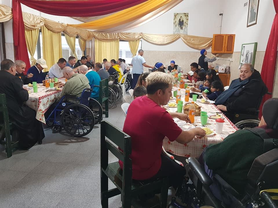 Argentina - Día de San Vicente de Paúl en el Hogar San Martín de Tours