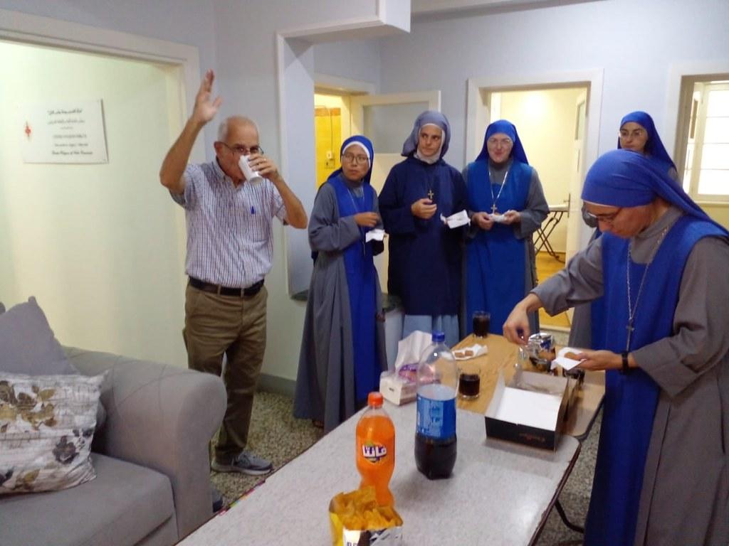 Egipto - Cumpleaños del profesor Redha - Alejandría