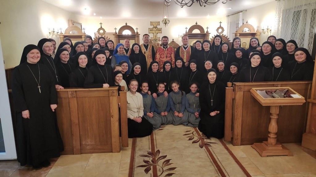 Ucrania - 12° Aniversario del Monasterio Santa Sofia de las Servidoras