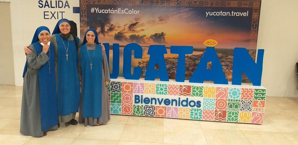 México - Bienvenida de la Hna. Redentor a la misión