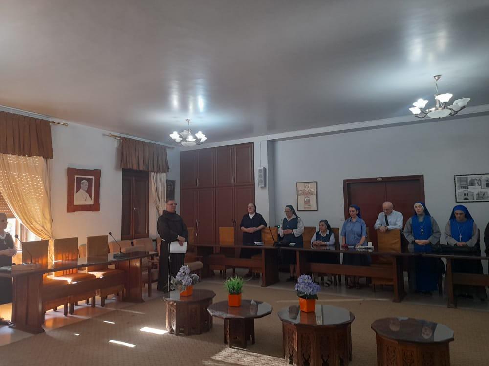 Siria - Preparación para el encuentro de religiosos en Siria