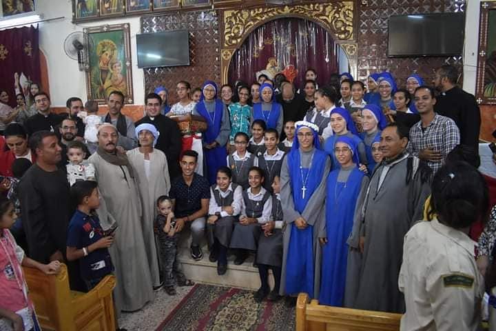 Egipto - Primeros Votos de la Hna. Mariam Thaluth Al'Qudus en Assiud