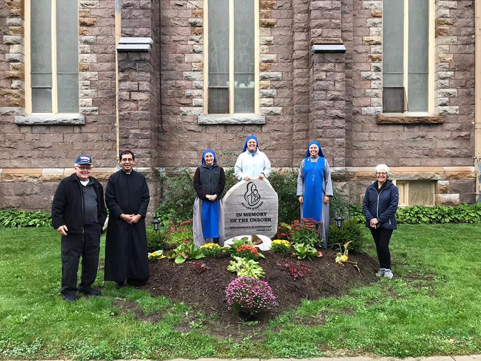 Canadá - Memorial de los no nacidos en Peterborough