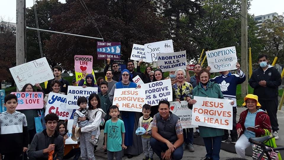 Canadá - Marcha Pro-Vida en Toronto