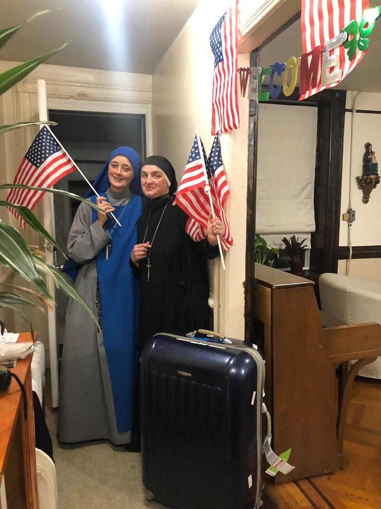 Estados Unidos - Bienvenida a la nueva misionera bizantina