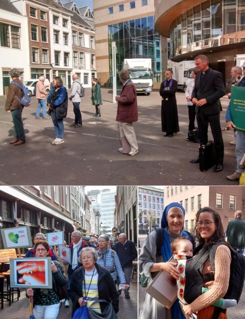 Holanda - Marcha pro-vida