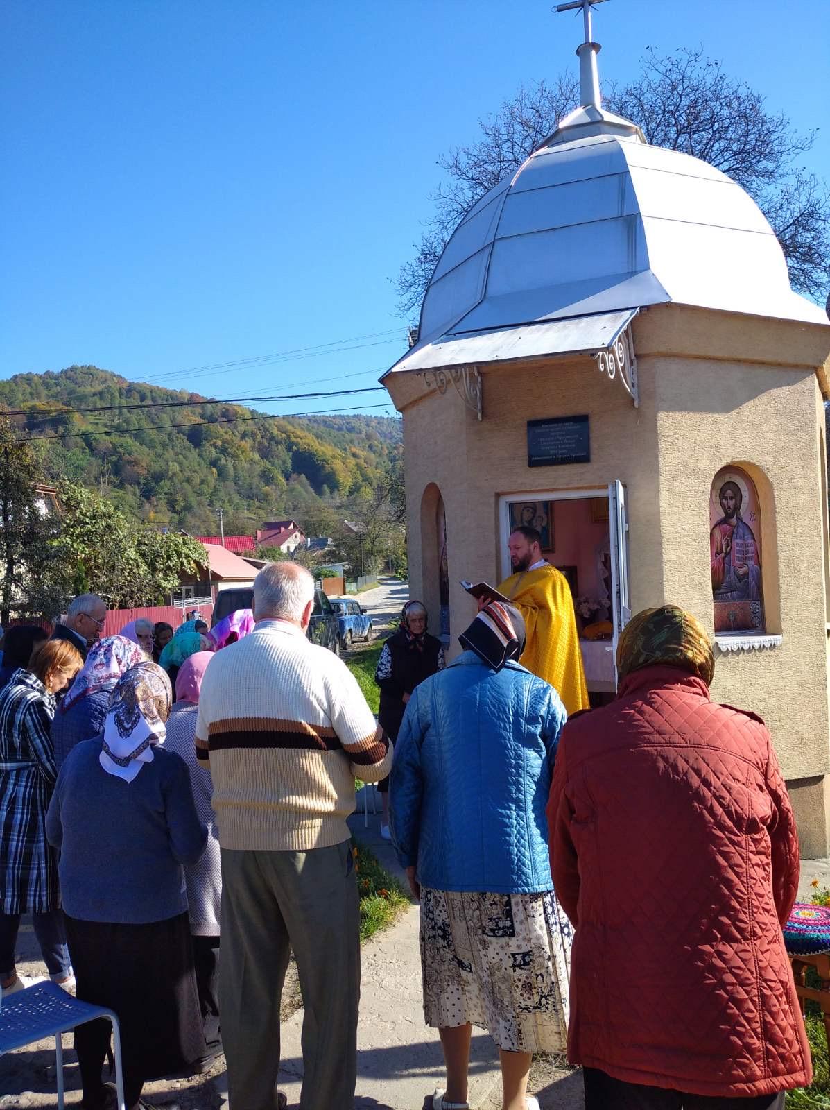 Ucrania - Santa Misa en la Capilla de San Juan Bautista