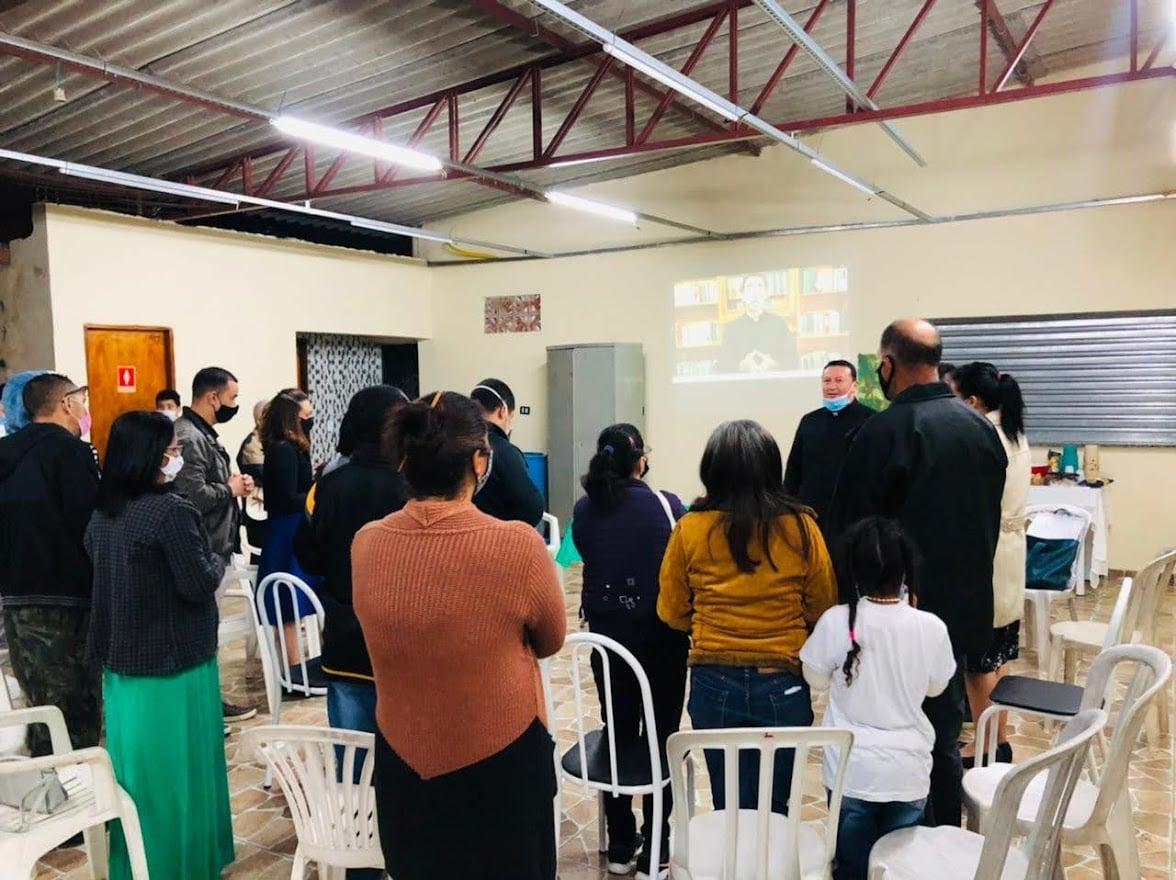 Brasil - Reunión de la Tercera Orden en la Parroquia Nuestra Señora del buen viaje