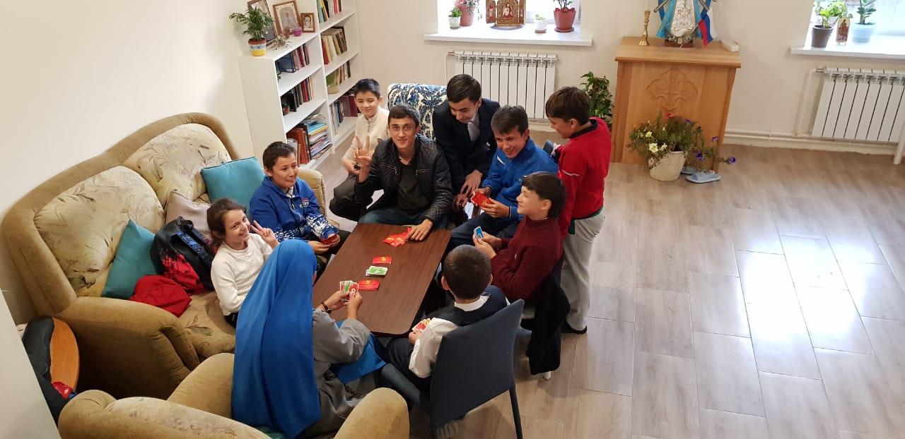 Rusia - Juegos con los niños