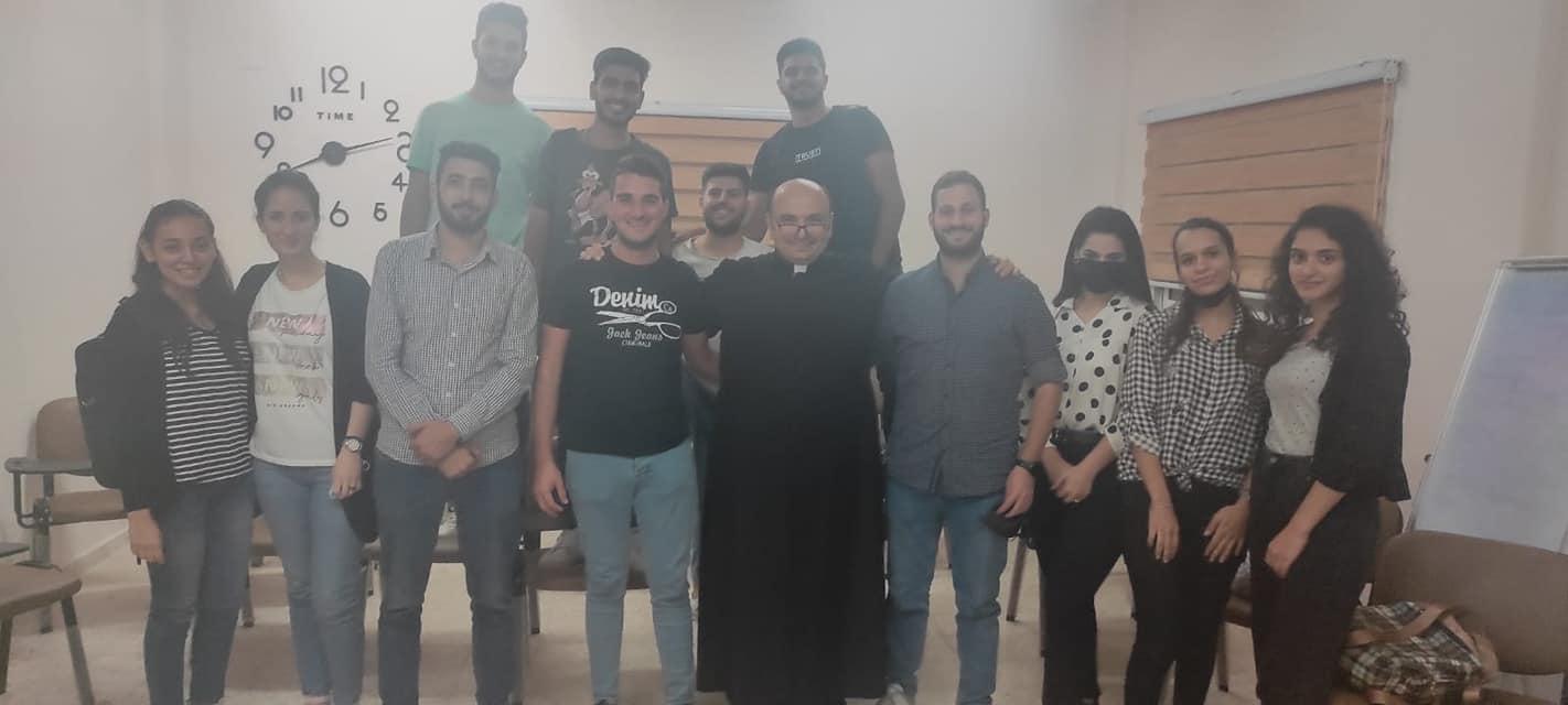 Gaza - Clase de Lógica en el Centro Santo Tomás de Aquino