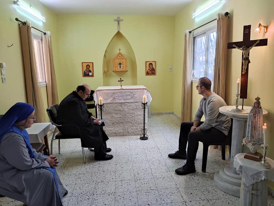 Gaza - Peregrinación en la Fiesta de la Virgen del Rosario