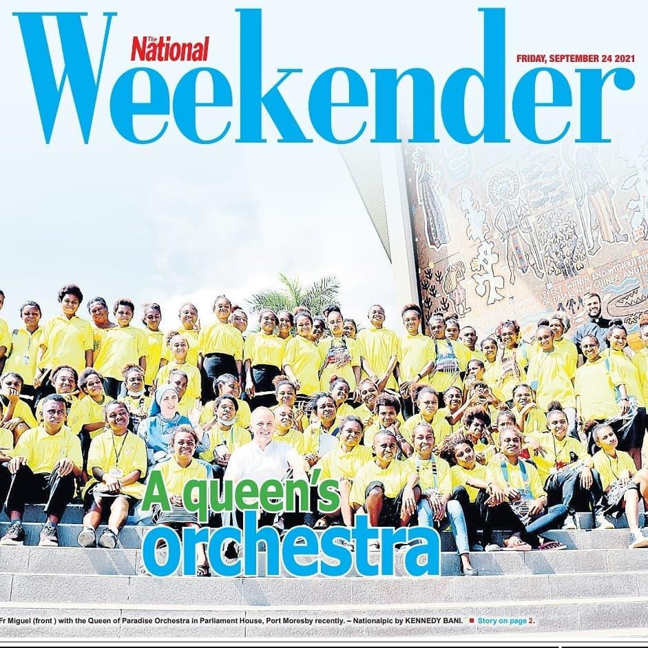 Papúa - La Orquesta Reina del Paraíso en el diario de la Capital