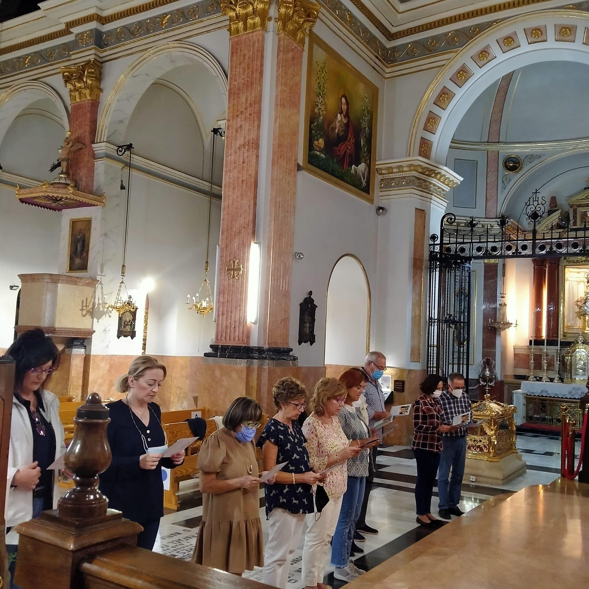 España - Consagración a la Virgen en Alcoy