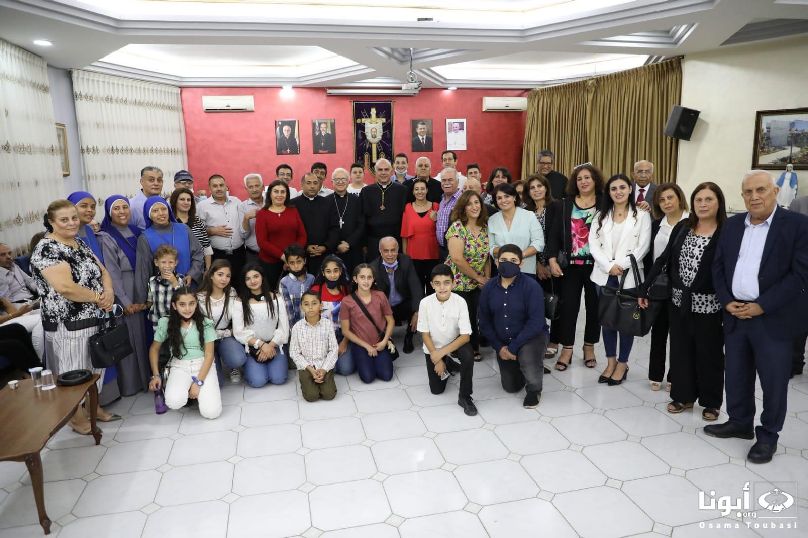 Jordania - Visita al Nuevo Obispo de Jordania al Hogar